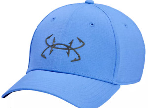 NEW Under Armour Mens AIRVENT ISO-CHILL FISH CAP-Carolina Blue 1351474-475