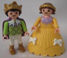 Playmobil Palacio/Castillo Figuras Niños Familia Real: el Príncipe & Princesa Nuevo
