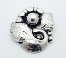 Estate!!! GEORG JENSEN Denmark 1933-1944 Pin Brooch in Sterling Silver # 71