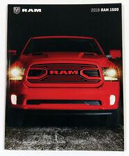 2018 Dodge Ram 1500 64-page Original Sales Brochure Catalog - Slightly Damaged