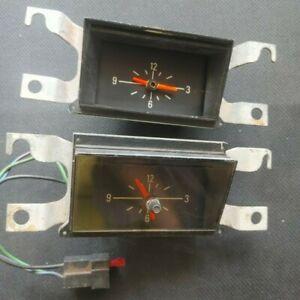 2 x (FAULTY) FORD DASH CLOCKS - FALCON XA XB XC FAIRLANE GENUINE