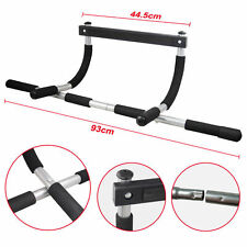 Heavy Duty Doorway Chin up Pull Up Bar Exercise Sports Gym Home Door Mounted NS