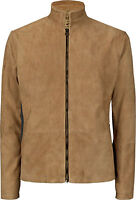 JAMES BOND SPECTRE BROWN BLOUSON MOROCCO REAL SUEDE LEATHER JACKET