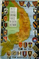 11x16 ARMY MARINES NAVY GROUND FORCES IN SOUTH VIETNAM POSTER PRINT AIRBORNE WAR