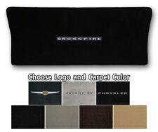 Chrysler Crossfire Convertible Ultimats Carpet Trunk Mat - Choose Color & Logo