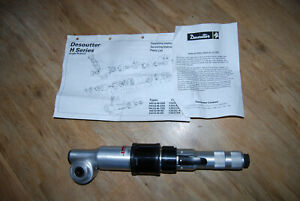Desoutter Angle Head Drive/ Wask/HY-RAM/ Electrofusion Air Drive, Ratchet