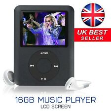 Slim 1.8in LCD 16GB MP4 MP3 Music Media Video Player FM-Radio Recorder Games UK