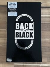 Back To Black. 1900 To 1999 - 10 CD Box Set - Very Good Condition