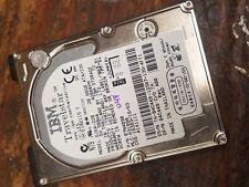 "IBM Laptop Hard Drive 2.5"" HDD IDE DJSA-220 07N4090 20GB Disk Travelstar"