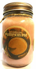 Pumpkin Pie 16oz Country Jar Soy Candle HANDMADE wholesale scented candles
