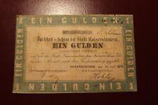 KAISERSLAUTERN: EIN GULDEN, 1870