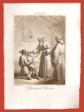 San Giovanni il Silenzioso Vescovo 13 Maggio Roma Gentilucci Bigioli 1843