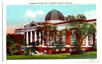 Mid-1900s Tompkins Dining Hall, Tuskegee Institute, AL Postcard