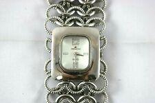Women's Denacci Quartz Silver Chained Bracelet Cuff Dressy/Casual Fashion Watch