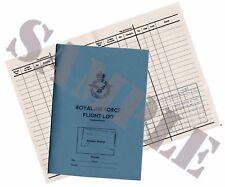WW2 RAF Pilots Logbook - King Crown Version - (Exact Copy)