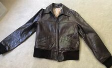 Ladies Timberland Leather Jacket Coat Brown size Small