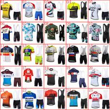 2019 cycling jersey set men bike tops bib shorts suit breathable bicycle uniform