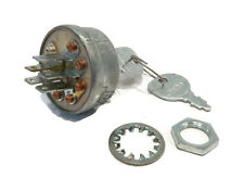 Ignition Key Switch & Keys for National 1A808B Stens 430-249 Rotary 8601 Mowers