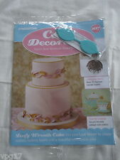 DeAGOSTINI CAKE DECORATING MAGAZINE LEAF VEINER ROMAN INSPIRE WREATH  No 107 NEW