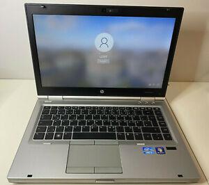 "HP Notebook EliteBook 8460p 14"" | i5 2nd | 4GB RAM | DVD | SD |120 GB SSD | top!"