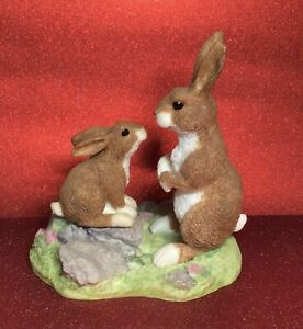 CUTE RABBIT AND BABY ORNAMENT