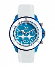 Ice Watch dune Herrenuhr Uhr Chronograph Weiß Blau 45mm 014220
