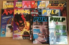 Assortment Of Manga Magazines, Including First Edition Of Pulp