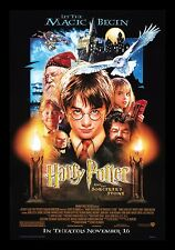 HARRY POTTER AND THE SORCERERS STONE * CineMasterpieces ORIGINAL DS MOVIE POSTER