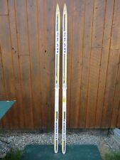"Ready to Use Cross Country 81"" Long SKAN 210 cm Skis with SALOMON Bindings"