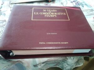 50 YEARS OF U.S. COMMEMORATIVE STAMPS 1939-1988 (99 pages) Ships Free!!