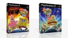 The SpongeBob Squarepants Movie PS2 Spare Game Case Box + Cover Art (No Game)