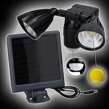 solar Wandleuchte COB LED Sicherheitsleuchte Grundig 400 Lumen Solarleuchte Ip44