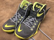 Nike Lebron Soldier 8 VIII Men's Basketball Shoes 653641-070 Grey Volt size 8