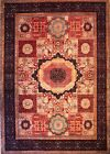 Hand-knotted Rug (Carpet) 9'10X14, Mamluk mint condition
