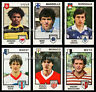 "NEW LIST !! 5 Vignettes RECUPERATION au CHOIX ""FOOTBALL 85"" stickers PANINI"