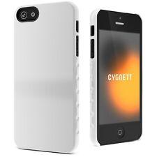 CYGNETT White iPhone 5 / 5S Aerogrip Tough Slim Ergonomic Hard Protective Case