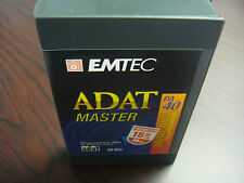 EMTEC PRO 40 MINUTE ADAT MASTER 16 BIT FORMATTED 3 PACK BRAND NEW