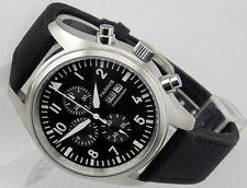 parnis 42mm chronograph mens womens quartz Full  watch 1562