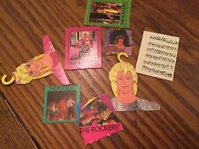 8 Cardboard Posters Barbie Rockers + Use in Monster High + Dollhouse #3