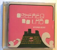 Sound-Dust by Stereolab (2001 Elektra PROMO CD) EXC LN COND / FREE USA SHIP