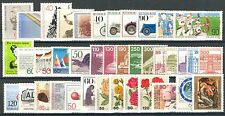 BUNDESPOST - 1982 complete year MNH