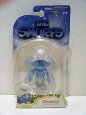 Jakks Pacific 2011 The Smurfs movie Grab Ems Grouchy MOC