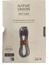 Original Native Union Braided Zebra Micro USB Cable for Samsung Galaxy | LG +