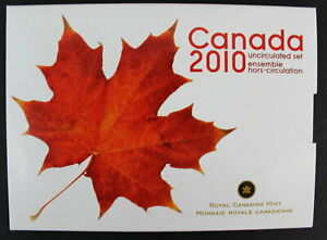 2010 CANADA PROOF-LIKE SET WITH STEEL MAGNETIC PENNY SEVEN COINS