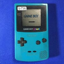 b756 Nintendo Gameboy Color console Blue Japan GBC Express x
