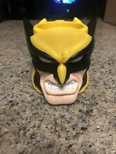Wolverine X-Men Marvel Universe Plastic Kids Cup, Mug; Applause Vintage NEW