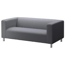 IKEA KLIPPAN Two-Seat Sofa SLIP COVER in Flackarp Grey: 802.788.57   Brand New
