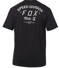 Fox Course Vitesse Devison Homme Moto MX T-Shirt Black XL