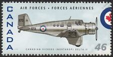 RCAF Canadian Vickers NORTHROP DELTA II Aircraft Stamp