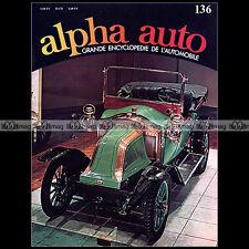ALPHA AUTO N°136 RENAULT 4 8 16 12 17 5 R5 R17 R12 R4 TAXI MARNE LAVERDA 750 SFC